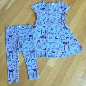 Gymboree dress and pants